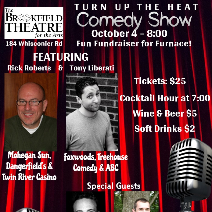 Turn Up The Heat Comedy Night